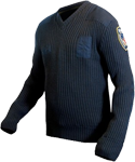 Blauer V-Neck Sweater w/ Windstopper Liner
