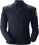 Blauer Classic V-Neck Sweater