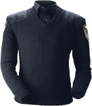 Blauer Lined V-Neck Sweater