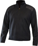Blauer Fleece-Lined Quarter Zip Sweater