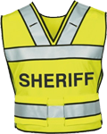Blauer Breakaway Safety Vest w/ SHERIFF Logo