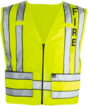 Blauer Zip-Front Breakaway Safety Vest w/ FIRE Logo