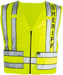 Blauer Zip-Front Breakaway Safety Vest w/ SHERIFF Logo