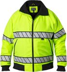 Blauer Hi-Vis Fleece Lined Bomber Jacket