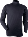 Blauer Turtleneck