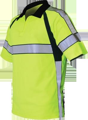 Blauer ANSI Certified Hi-Vis Polo Shirt
