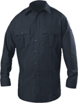 Blauer ClassAct Zippered Long Sleeve Polyester Shirt