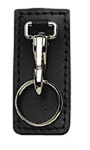 Boston Leather Highride Key Holder w/ Belt Clip