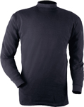 Blauer Long Sleeve Mock Turtle Neck Shirt
