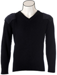Cobmex V-neck 2X2 Rib Commando Sweater