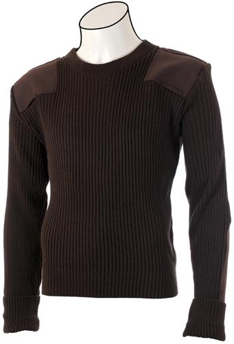 Cobmex Crew Neck 2X2 Rib Commando Sweater
