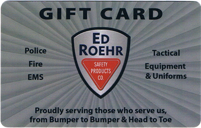 Ed Roehr Safety Gift Card