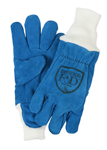 Fire-Dex CROSSTECH Blue Cow Gloves