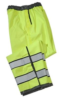 Gerber Pro Dry Black/Hi-Vis Reversible Rain Pants