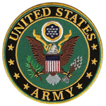 National Emblem U.S. ARMY Round Emblem