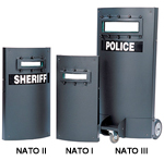 Protech NATO Enhanced I, II, & III Type III Tactical Shields