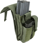 Protech Dual M4 & Side Arm Magazine Pouch