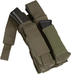 Protech Double MP5 and Side Arm Magazine Pouch