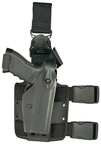 Safariland Model 6005 - SLS Tactical Holster w/ Quick Release Leg Harness