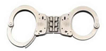 Smith & Wesson Model 300 Hinged Nickel Handcuff