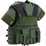 TAC 6 PLUS HP Full Coverage Tactical Vest